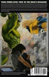 Verso de World War Hulk: Front Line (2007) -INT- World War Hulk: Front Line