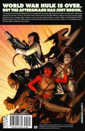 Verso de World War Hulk Aftersmash: Warbound (2008) -INT- World War Hulk: Warbound