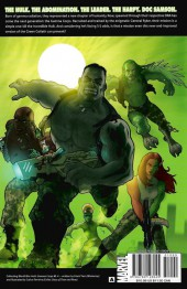 Verso de World War Hulk: Gamma Corps (2007) -INT- World War Hulk: Gamma Corps