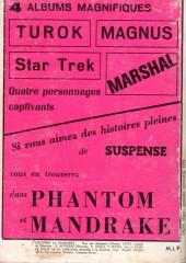 Verso de Mandrake (1re Série - Remparts) (Mondes Mystérieux - 1) -Rec34- Album N°34 (du n°350 au n°354)