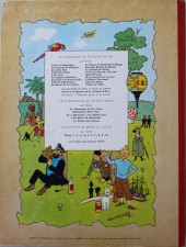Verso de Tintin (Historique) -11B33- Le secret de la Licorne