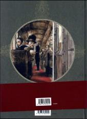 Verso de Les disparues d'Orsay
