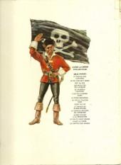 Verso de Barbe-Rouge -12a1974- La mission secrète de l'épervier