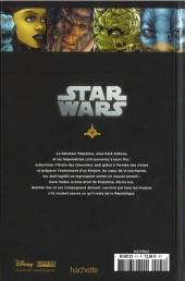 Verso de Star Wars - Légendes - La Collection (Hachette) -4135- Clone Wars - X. Epilogue