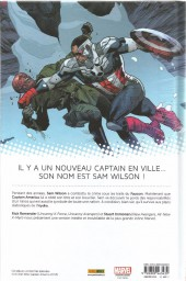 Verso de All-New Captain America - Le Réveil de l'Hydra
