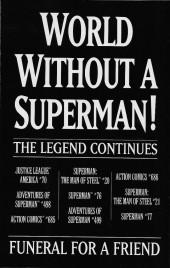 Verso de Superman Vol.2 (DC comics - 1987) -75- Doomsday!