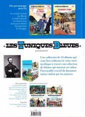 Verso de Les tuniques Bleues présentent -8- Des personnages réels (2)