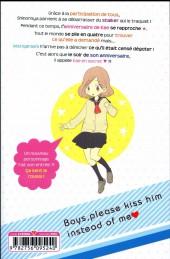 Verso de Kiss him, not me ! -9- Tome 9