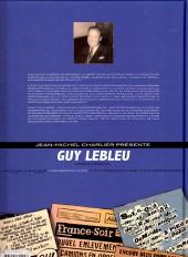 Verso de Guy Lebleu -3- Les pirates de la nuit