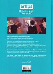 Verso de Histoire(s) de l'Art en BD