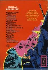 Verso de Sidéral (3e série - Arédit - Comics Pocket) -3- L'homme de l'espace