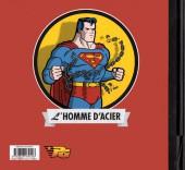 Verso de Superman - L'histoire de l'homme d'acier - Tome 1