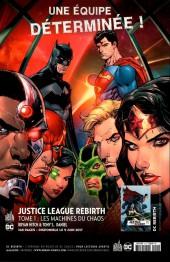 Verso de Justice League Rebirth (DC Presse) -1- Tome 1