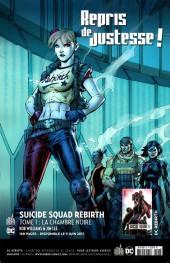 Verso de Batman Rebirth (DC Presse) -1- Le retour de Batman !