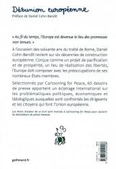 Verso de Cartooning for Peace - Désunion européenne