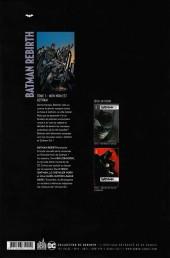 Verso de Batman Rebirth -1- Mon nom est Gotham