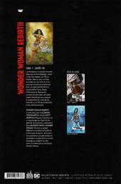Verso de Wonder Woman Rebirth -1- Année Un