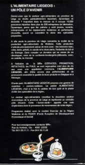Verso de (AUT) Walthéry -1992- La cuisine régionale Wallone