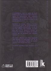 Verso de Reversible man -4- Volume 4