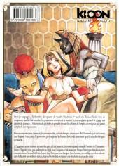 Verso de Reine d'Égypte -2- Tome 2