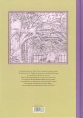 Verso de Yoko Tsuno -28TL- Le temple des immortels - Esquisse d'une œuvre