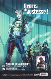 Verso de Batman Rebirth (DC Presse) -1TL- Le retour de batman !
