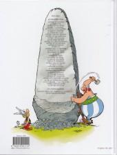 Verso de Astérix -24ES- Astérix chez les Belges