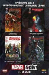 Verso de All-New X-Men -13- Le Dernier d'entre nous