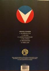 Verso de Michel Vaillant - Nouvelle saison -6ES- Rébellion