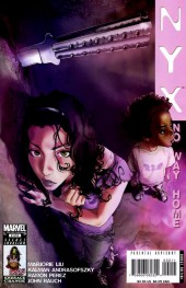 Verso de NYX (2003) - No Way Home