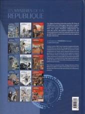 Verso de Les mystères de la Troisième République -5- Mort d'un collabo