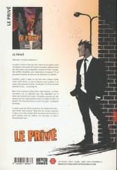 Verso de Le privé (Sebba) -INT- Le privé