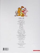 Verso de Garfield -37- C'est la fête !
