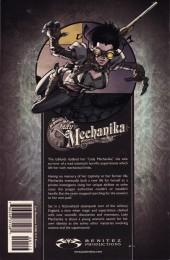 Verso de Lady Mechanika (2010) -FCBD 2017- Lady Mechanika - Free Comic Book Day 2017