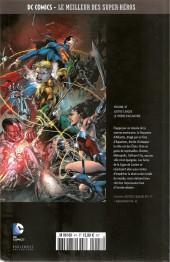 Verso de DC Comics - Le Meilleur des Super-Héros -47- Justice League - Le Trône d'Atlantide