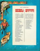 Verso de Bessy (en néerlandais) -96- Kwang, de bergbever