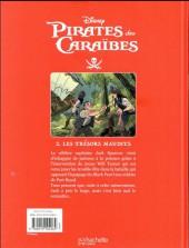 Verso de Pirates des Caraïbes -2- Les trésors maudits