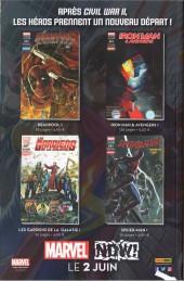 Verso de Iron Man & Avengers -1- L'Homme au masque de fer