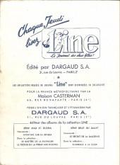 Verso de Line (Le journal des chics filles) -Rec18- Recueil N°18 (du n°244 au n°258)