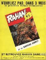 Verso de Rahan (1e Série - Vaillant) -4- Comme aurait fait Crao/Mort à la