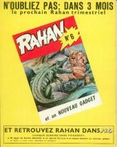 Verso de Rahan (1e Série - Vaillant) -5- Le collier de griffes/L'arbre du démon