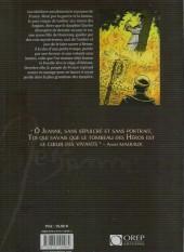 Verso de Jeanne d'Arc (Eho/Paillou) - De feu et de sang