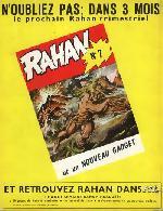 Verso de Rahan (1e Série - Vaillant) -6- Le rivage interdit/La falaise du sacrifice