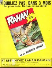 Verso de Rahan (1e Série - Vaillant) -8- Le territoire des ombres/Le clan du lac maudit