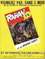 Verso de Rahan (1e Série - Vaillant) -9- La terre qui parle/Pour sauver Alona