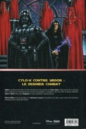 Verso de Star Wars - Dark Vador (Panini Comics - 100% Star Wars) -4- En bout de course