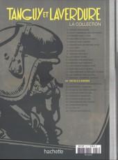 Verso de Tanguy et Laverdure - La Collection (Hachette) -18- Un DC.8 a disparu