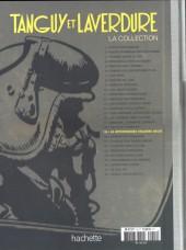 Verso de Tanguy et Laverdure - La Collection (Hachette) -19- La mystérieuse escadre delta