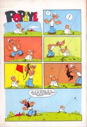 Verso de Popeye (Cap'tain présente) (Spécial) -8- Popeye connaît la musique