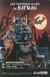 Verso de Batman - Récit Complet (DC Presse) -1- Batgirl & les Birds of Prey : Qui est Oracle ?